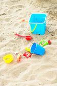Strand speelgoed — Stockfoto