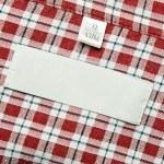Cloth Label — Stock Photo