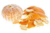 Geschälte Mandarine — Стоковое фото