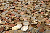 Big heap of coins — Stock Photo