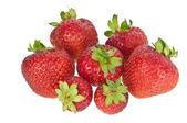 Een hoop van aardbeien — Stockfoto