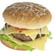 Custom made Cheeseburger — Stock Photo