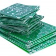 Royalty-Free Stock Photo: Stacked circuit boards