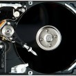 HDD Close-Up Picture - Stock Photo