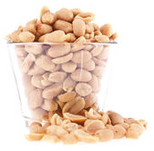 Peanuts in a glass — Stock Photo