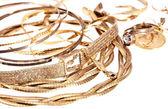 Heap of old jewellery — Stock Photo