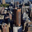 Downtown Manhattfrom Empire State Building — Stock Photo #8359052
