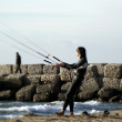 Kite surfer - Lizenzfreies Foto