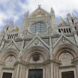 Siena. Duomo di Siena - Stok fotoraf