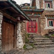 China's Tibetan architecture - Stok fotoğraf