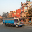 Stock Photo: Nepal van