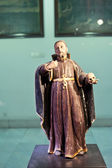 Church priest statue, Macau — Stock Photo