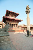 Nepal DUBA square — Stock Photo