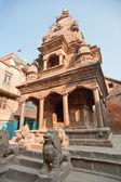 Quadrado de durbar de nepal — Fotografia Stock