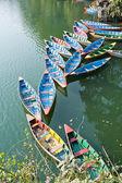 Phewa Lake in Pokhara, Nepal. — Stock Photo