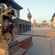 Bhaktapur Durbar Square - Stock Photo