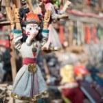 Masks, pottery,souvenirs, Nepal — Stock Photo #10443560