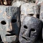 Masks, pottery,souvenirs, Nepal — Stock Photo #10443582