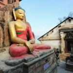 Swayambunath Stupa in Kathmandu, Nepal — Stock Photo