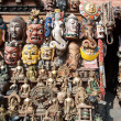 Masks, pottery,souvenirs, Nepal — Stock Photo #10444955