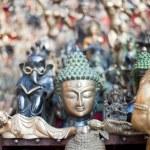 Masks, pottery,souvenirs, Nepal — Stock Photo #10445240