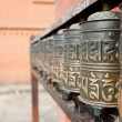 Foto Stock: Prayer wheels, Nepal