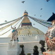 Boudnath stupa - Stock Photo