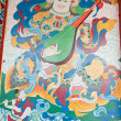 Stock Photo: Mural,Nepal, temple wall murals