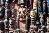 Hindu maskesi — Stok fotoğraf