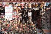 Masques, poteries, souvenirs, Népal — Photo