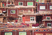 China, Sichuan color Daxian, WUMING Buddhist Institute — Stock Photo