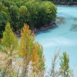 China Xinjiang scenery, Kala Si Lake - Stock Photo