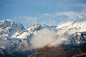 Western Sichuan, China, Cattle Mountain cloud falls — Stock Photo