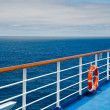 Stock Photo: Promenade deck