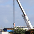 Stock Photo: Telescopic crane