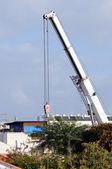Telescopic crane — Stock Photo