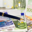 Europe banknotes — Stock Photo