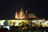 Night in Prague — Stock Photo