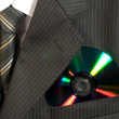 CD in pocket — Stock Photo #8665165