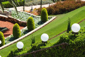 Jardins bahai — Fotografia Stock