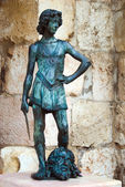 King David statue — Stock Photo