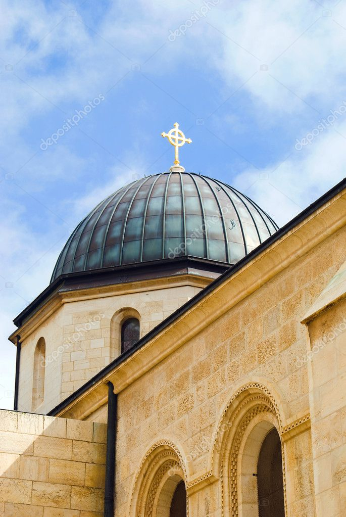 Place of worship in Jerusalem, Israel  Stock Photo #9050362