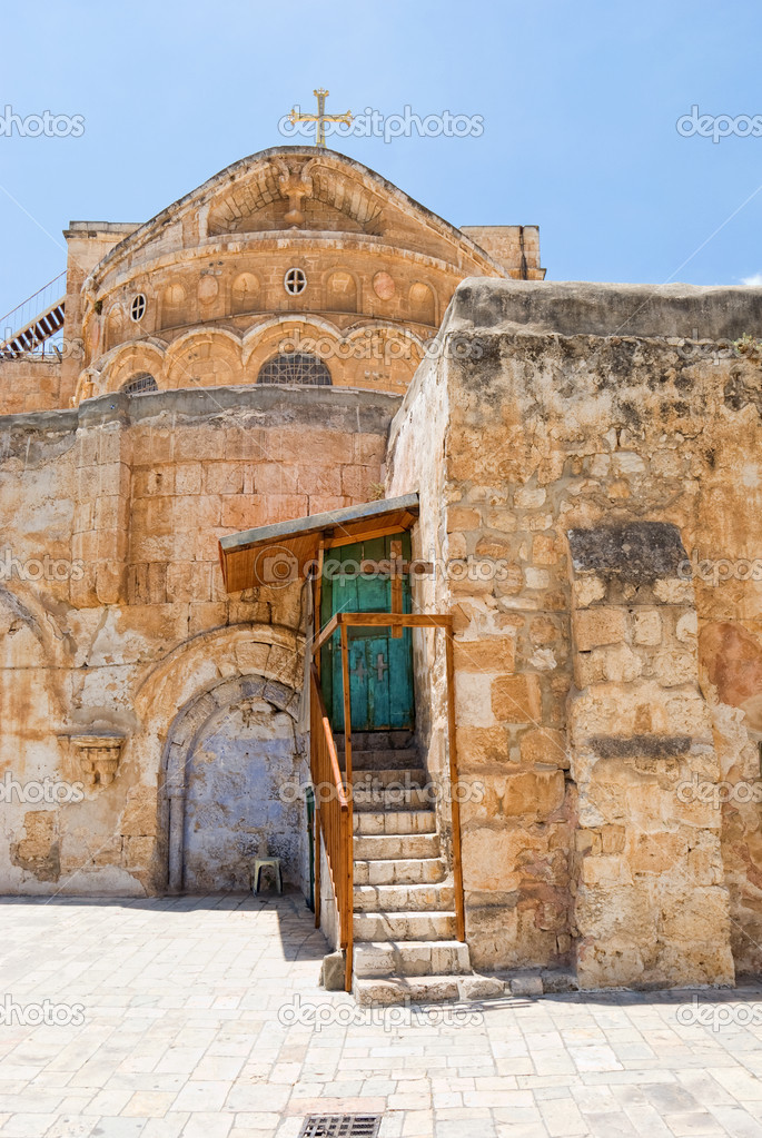 Church Of The Holy Sepulchre.Jerusalem.Israel — Stock Photo #9051975