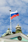 Flag of the Russian Federation — Stock Photo