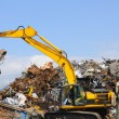 Stock Photo: Dump area