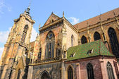 Cathedral colmar — Stock Photo