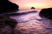 Trebarwith — Stock Photo