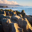 pancake rocks — Stock Photo