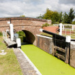 Stock Photo: Higher Maunsel Lock