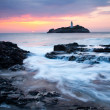Godrevy Sundown — Stock Photo